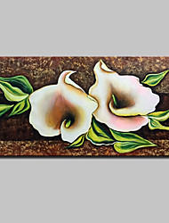 cheap -Large Hand-Painted Flowers Oil Painting On Canvas Modern Abstract Wall Art Pictures For Home Decoration Ready To Hang