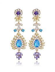 Femme Bijoux Original Mode euroaméricains bijoux de fantaisie Zircon Alliage Bijoux Bijoux Pour Mariage Anniversaire Soirée Cérémonie