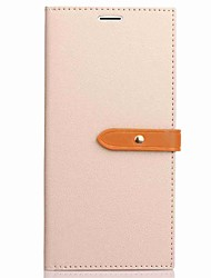 cheap -For iPhone X iPhone 8 Case Cover Wallet Card Holder with Stand Flip Full Body Case Solid Color Hard PU Leather for Apple iPhone X iPhone