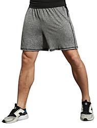 cheap -Men's Running Shorts Running Split Shorts Fitness, Running & Yoga Moisture Wicking Shorts Bottoms Exercise & Fitness Running Fitness