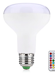 10W E27 LED Smart Bulbs R80 38 SMD 5050 800 lm Warm White RGB K Remote-Controlled Decorative V