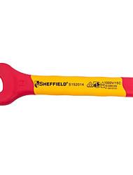 Sheffield s152014 chave de abertura isolada viva manche curta chave inglesa chave elétrica ativa / 1