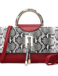 Womens Fashion Classic Crossbody Bag  red