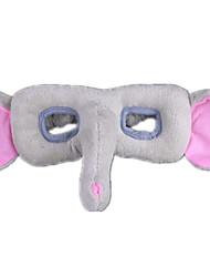abordables -Masques d'Halloween Masque d'Animal Animaux en Peluche Eléphant Horreur Tissu Pelouche Pièces Femme Fille Enfant Cadeau