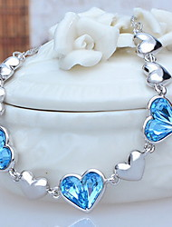 cheap -Women's Others Crystal Strands Necklace  -  Unique Design Euramerican Fashion White Pink Light Blue Necklace For Party Other Ceremony