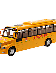 Недорогие -Игрушечные машинки Модель авто Строительная техника внедорожник Автобус Машинки с инерционным механизмом Музыка и свет моделирование