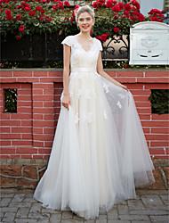 فساتين زفاف قياس كبير