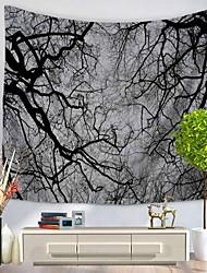 Недорогие -Пейзаж Декор стены 100% полиэстер С узором Предметы искусства, Стена Гобелены Украшение