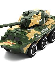 Недорогие -Военная техника Танк Игрушечные грузовики и строительная техника Игрушечные машинки 1:32 моделирование Детские Универсальные Мальчики Девочки Игрушки Подарок