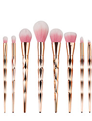 cheap -10pcs Makeup Brush Set Synthetic Hair High Quality Daily High Quality Contemporary Classic Elegant & Luxurious