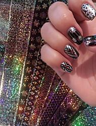 economico -16 pcs Nastro in lamina per unghie manicure Manicure pedicure Di tendenza Quotidiano / Nastro stripping a foglio
