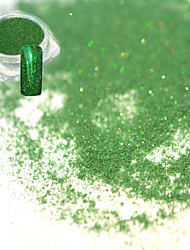 0.2g/bottle Fashion Graceful Style Emerald Nail Art Laser Shining Fine Powder DIY Glitter Holographic Shining Pigment Decoration JX07