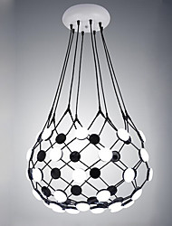 cheap -Design Led Pendant Lights Modern/Contemporary Painting Feature for Living Room Hotel Showroom Metal and Acrylic