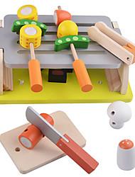 economico -Alimenti a giocattolo Apparecchi di cottura per Bambini Giochi di emulazione Giocattoli Legno Per bambini 1 Pezzi
