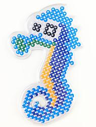 economico -Puzzle Perle fusibili Giochi da disegno Gioco educativo Giocattoli Fai da te Modello da 5 mm Prodotti per pesci Cavallo Pezzi Non