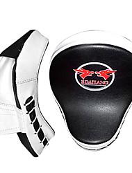 Недорогие -Бокс и боевых искусств Pad Боксерские перчатки Назначение Бокс Санда профессиональный уровень Демпфирование Скорость Оранжевый Черный с красным