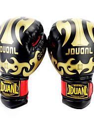 Недорогие -Профессиональные боксерские перчатки / Тренировочные боксерские перчатки / Боксерские перчатки Для Бокс Полный палец Легкость, Анатомический дизайн, Защитный губка Белый / Черный / Красный