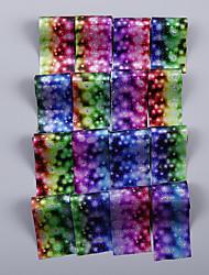 billiga -16 pcs Nail Foil Striping Tape nagel konst manikyr Pedikyr Mode Dagligen / Foliebandspapp