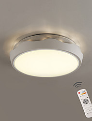 cheap -MAISHANG® Flush Mount Ambient Light - Dimmable Dimmable With Remote Control, Modern / Contemporary, 110-120V 220-240V, Dimmable With