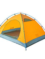 economico -2 persone Tenda Doppio Tenda da campeggio Una camera Tenda automatica Antiumidità Ompermeabile per Campeggio All'aperto Al Coperto