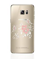 economico -Custodia Per Samsung Galaxy S8 Plus S8 Transparente Fantasia/disegno Custodia posteriore Fiore decorativo Morbido TPU per S8 Plus S8 S7