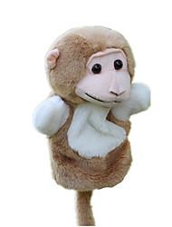 Недорогие -Куклы Игрушки Обезьяна Плюшевая ткань Детские Куски