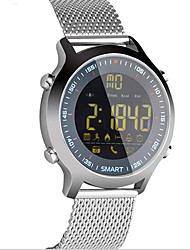 cheap -Smart Watch Water Resistant / Water Proof Calories Burned Pedometers Exercise Record Information Camera Control Long Standby Sports