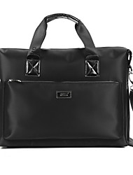 Men Bags All Seasons Oxford Cloth Briefcase Smooth for Business Casual Formal Office & Career School Date Work Black