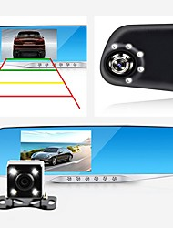 cheap -Night Vision Car Dvr detector Camera Blue Review Mirror DVR Digital Video Recorder Auto Camcorder Dash Cam FHD 1080P