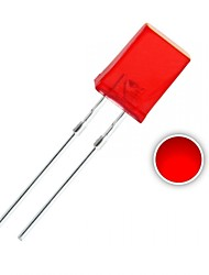 100 pcs 2x5x7 mm Red LED Diode Lights