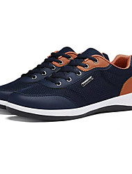 cheap -Men's Shoes PU Spring Comfort Athletic Shoes Black / Gray / Blue
