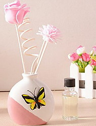 Floral/Botanicals Ceramic Modern/Contemporary,Gifts Decorative Accessories
