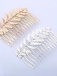 baratos -Alfinetes Acessórios de cabelo Liga perucas Acessórios Mulheres 2pcs pçs cm Diário Clássico Alta qualidade
