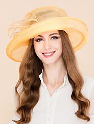 Недорогие -тюль шляпы головной убор свадебный вечер элегантный классический женский стиль