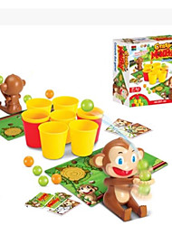 cheap -Toys Classic Square Monkey Plastic Pieces Unisex Kid's Kids Gift