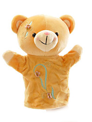 cheap -Finger Puppets Puppets Hand Puppet Toys Animal Cute Lovely Teddy Bear Plush Pieces