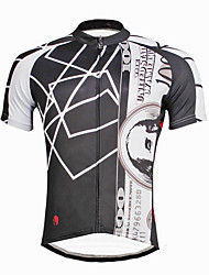 ILPALADINO Fahrradtrikot Herrn Mann Kurzarm Fahhrad Trikot/Radtrikot Oberteile Radfahren Rasche Trocknung UV-resistant Tasche auf der