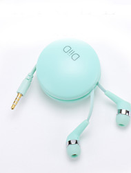 Diid id49 em fones de ouvido com fone de ouvido microfone com fones de ouvido fofos