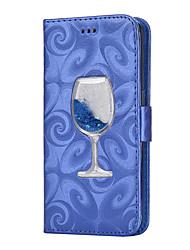 economico -Custodia Per Samsung Galaxy S8 Plus S8 Porta-carte di credito A portafoglio Con supporto Liquido a cascata Con chiusura magnetica A