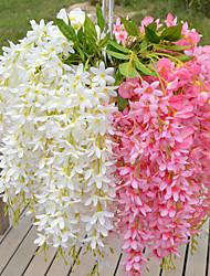 Недорогие -5heads / ветка пластиковые фиолетовые настольные цветы искусственные цветы