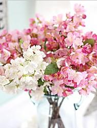 abordables -20inch 1 branche soie sakura fleurs artificielles décoration de la maison