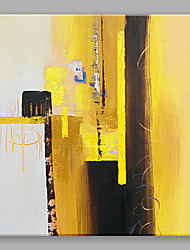 IARTS Oil Painting Modern Abstract Yellow Art Acrylic Canvas Wall Art For Home Decoration