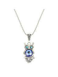 cheap -Women's Owl Personalized Unique Design Animal Design Tag Fashion Hypoallergenic Movie Jewelry Statement Jewelry Pendant Necklace