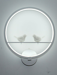 The Bedroom Wall Lamp Bedside Lamp And Creative Personality Of Modern Minimalist Circular Stairs LED Corridor Wall Lamp