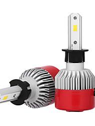 economico -2pcs H3 Auto Lampadine 36W LED integrato 3600lm LED Lampada frontale