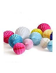 10 Inch 25cm Tissue Paper Honeycomb Ball Lantern Wedding Party Festival Kids Birthday Baby Shower Decoration