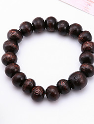 cheap -Men's Strand Bracelet Jewelry Natural Fashion Costume Jewelry Wood Irregular Jewelry For Special Occasion Gift Sports