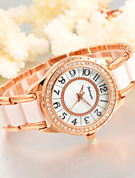 cheap -Women's Unique Creative Watch Casual Watch Fashion Watch Wrist watch Quartz Alloy Plastic Band Charm Luxury Creative Casual Elegant Cool