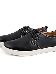 abordables -Homme Chaussures Microfibre Printemps / Automne Bottes à la Mode / Confort Basket Noir / Jaune / Bleu