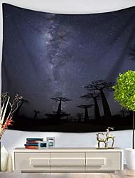 abordables -Paysage Décoration murale 100 % Polyester Avec motifs Art mural, Tapisseries murales Décoration